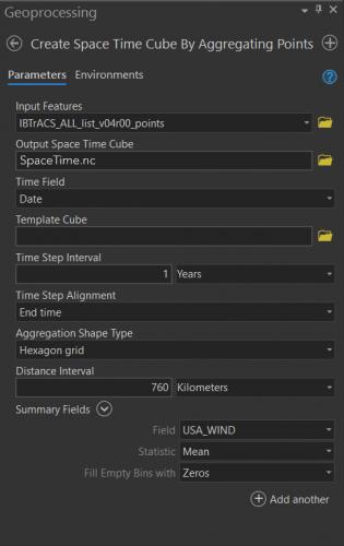 GP tool settings