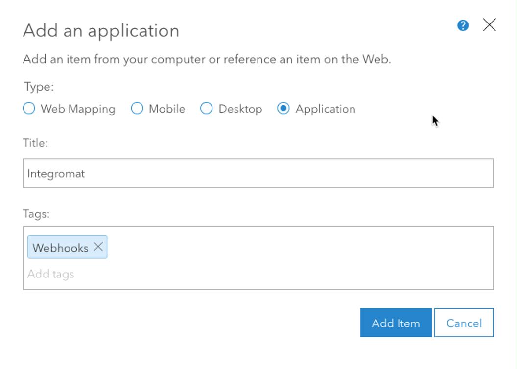 Application Info