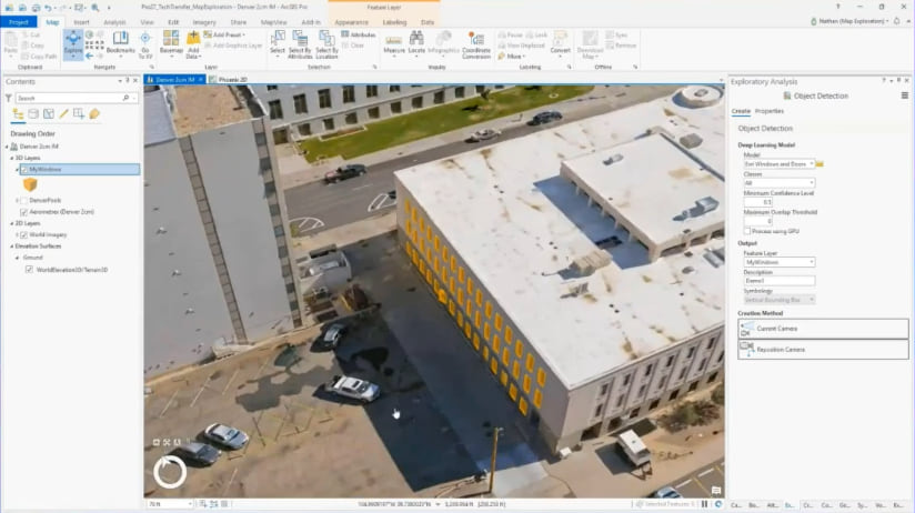 Interactive Object Detection in ArcGIS Pro