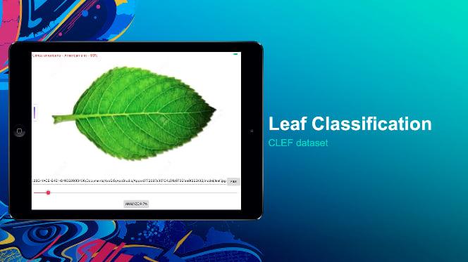 Plant classification in custom AppStudio app