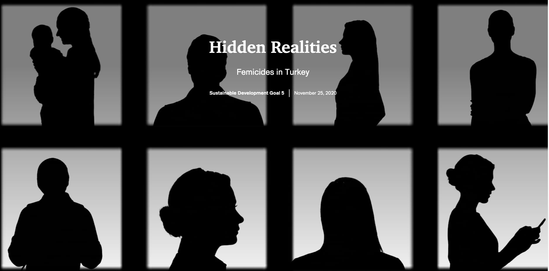 cover image uses silhouettes of women in boxes