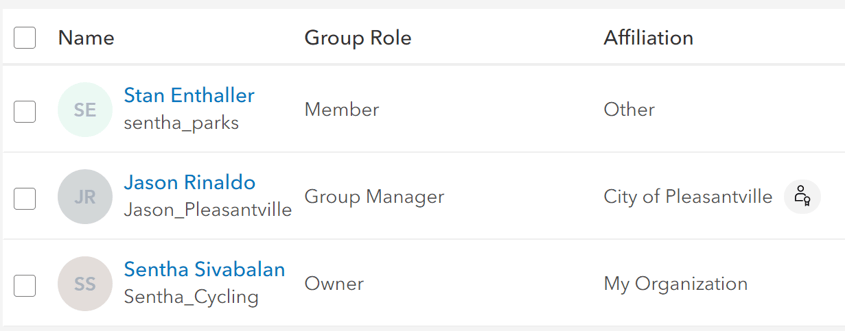 make other members group managers