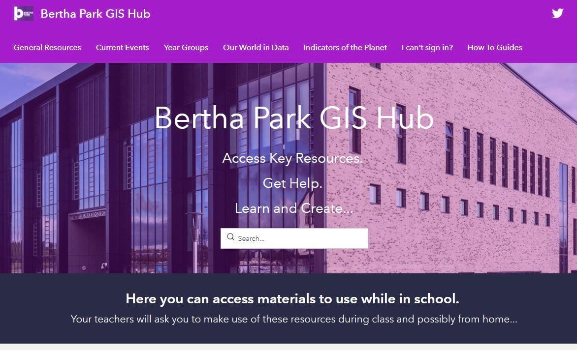 Bertha Park GIS Hub
