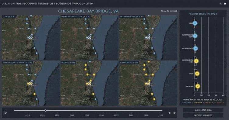 U.S. High Tide Flooding