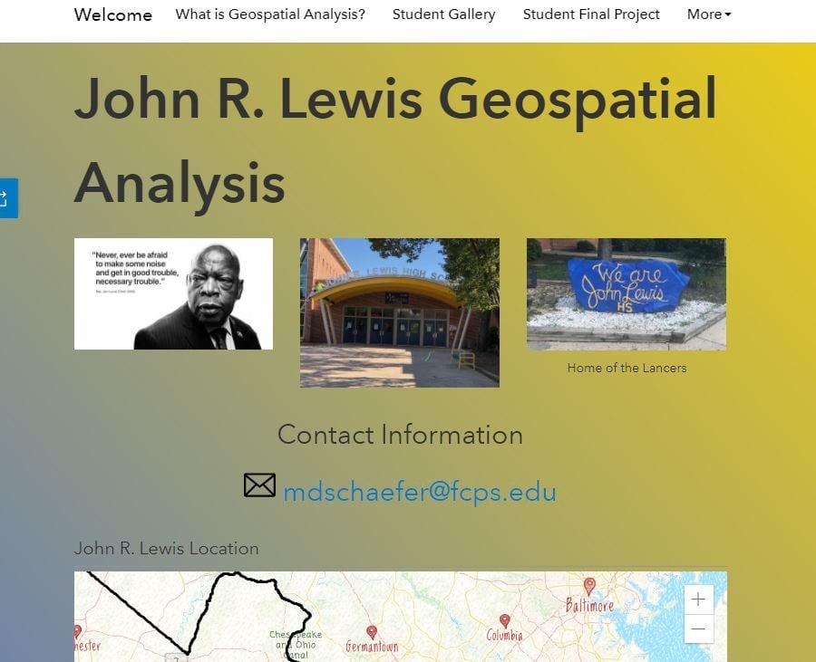 John R. Lewis High School Hub Page