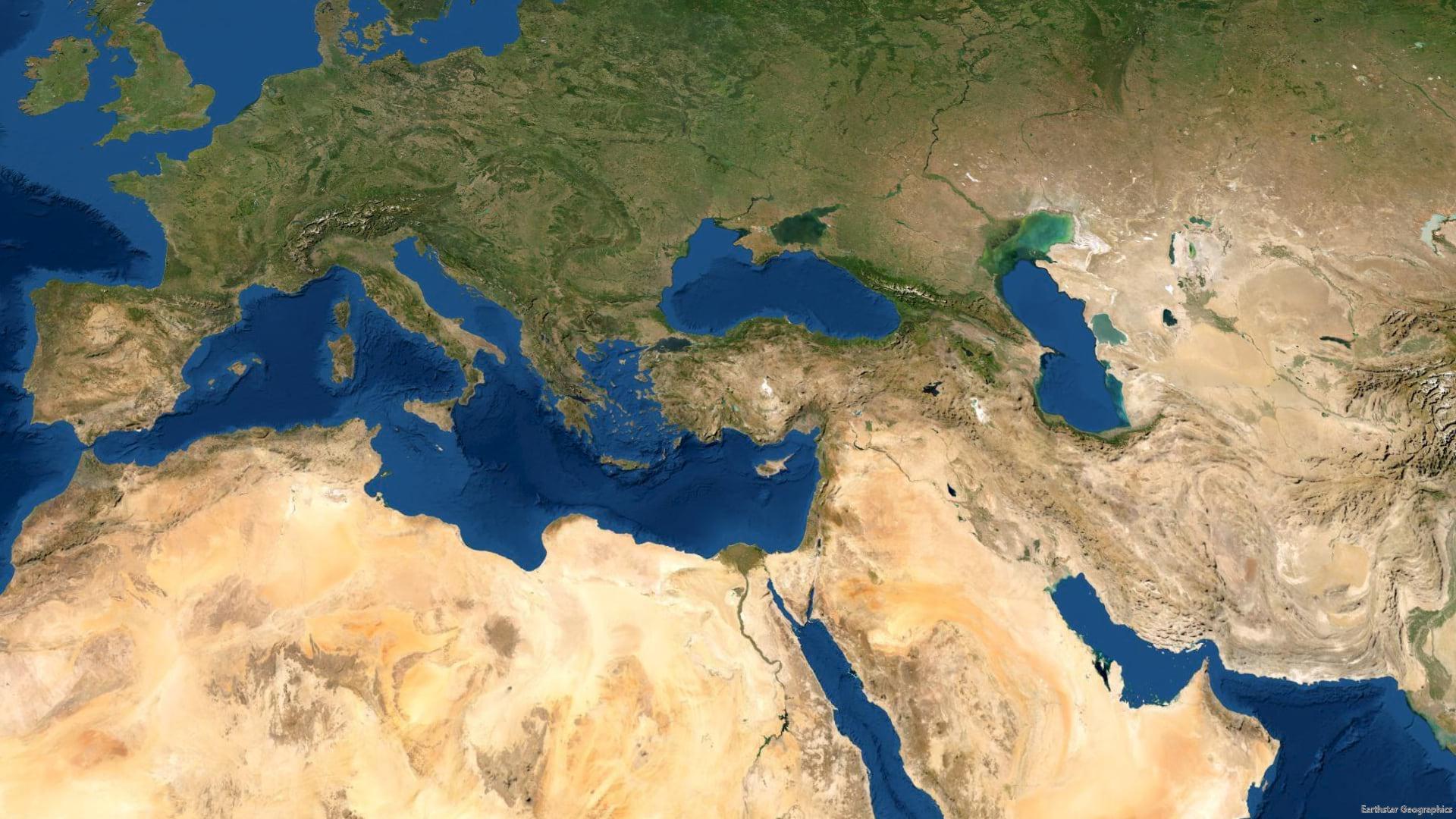 World Imagery basemap.