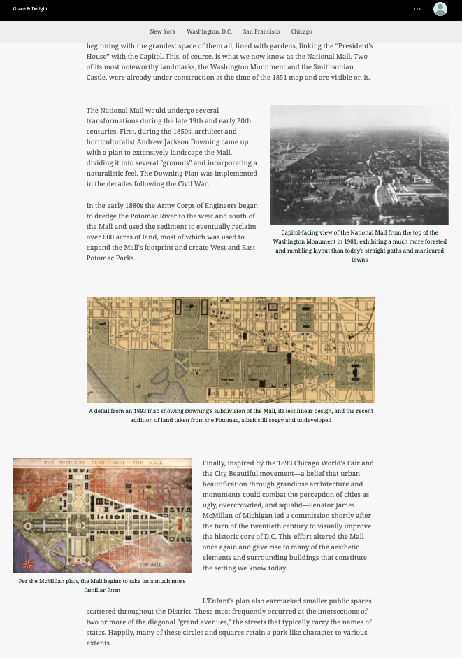 Images floating on the left and the right in a StoryMap