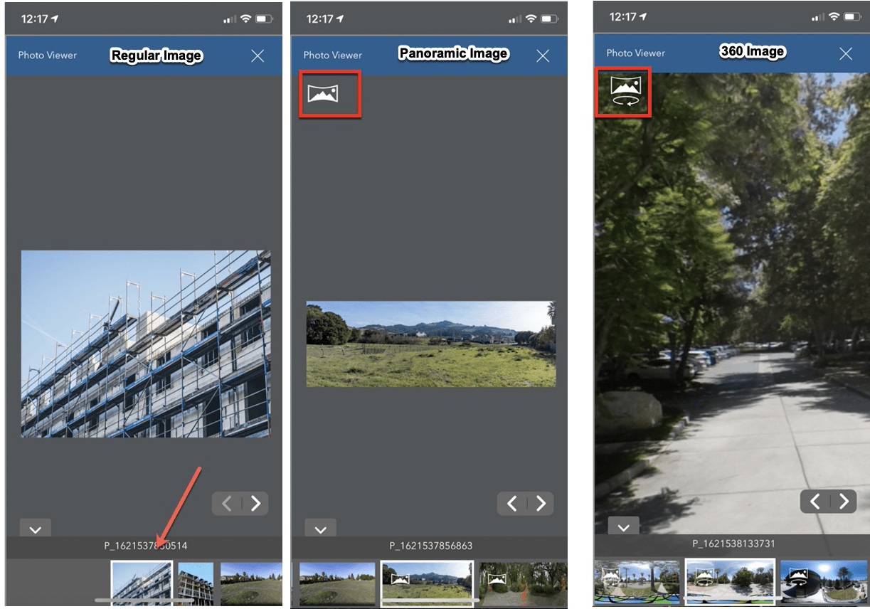 Viewing images in Photo Viewer