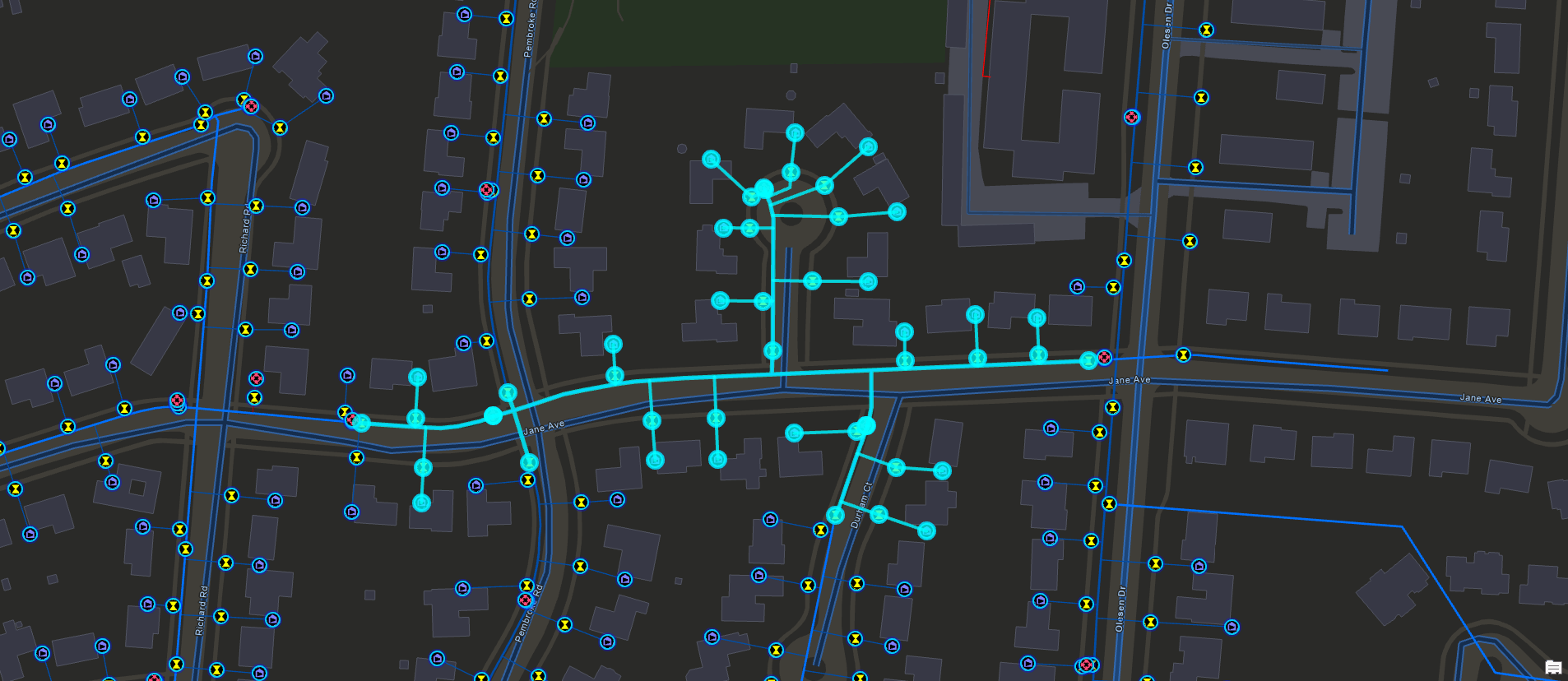 Water Network Tracing