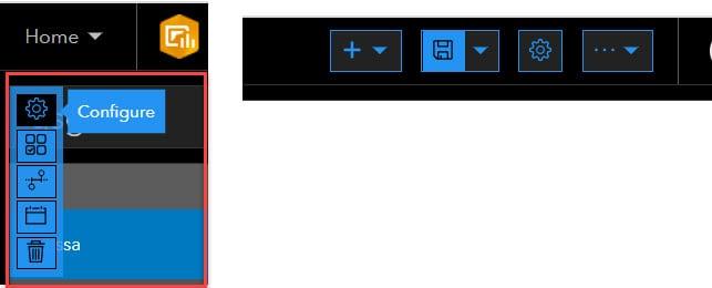 Edit dashboard configuration