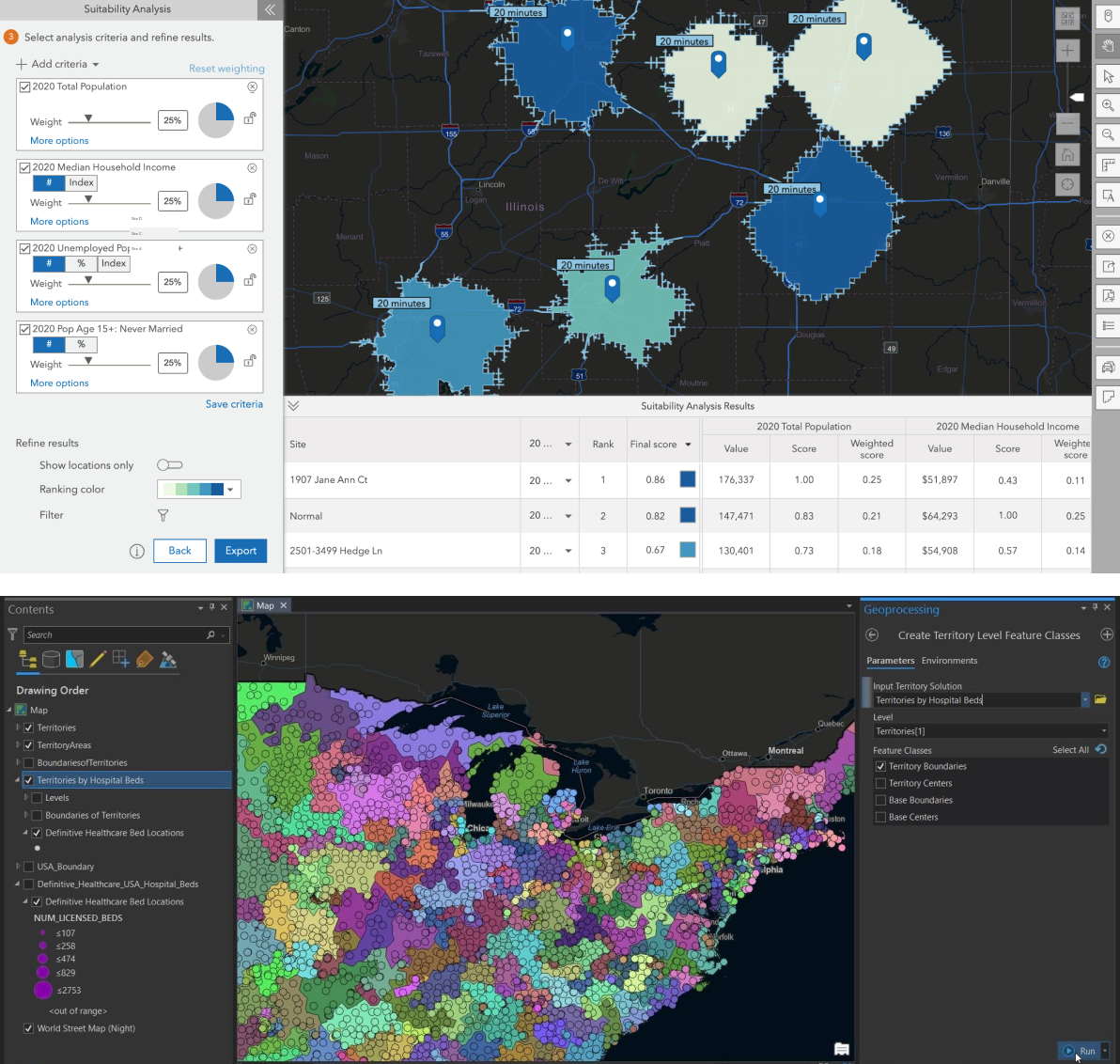 ArcGIS Business Analyst Advanced