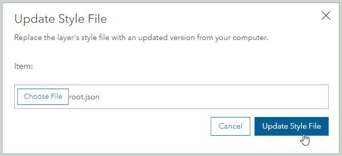 OSM ArcGIS Enterprise style update