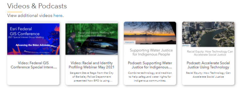 View videos of past events on the Resources page