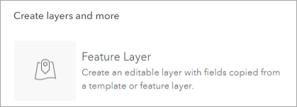 create feature layer