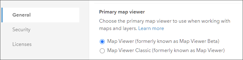 Member primary map viewer