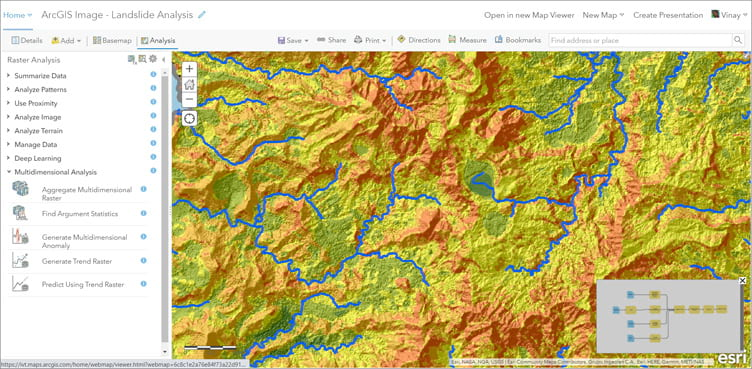 ArcGIS Image for ArcGIS Online