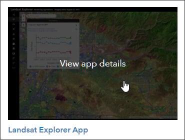 View app details