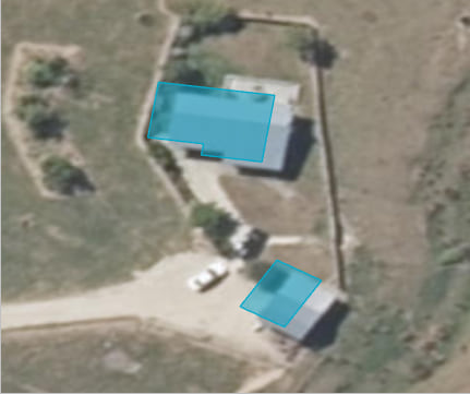 Building polygons offset from imagery basemap due to missing transformation