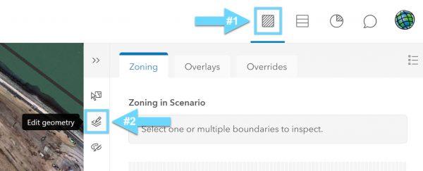 edit zoning geometry