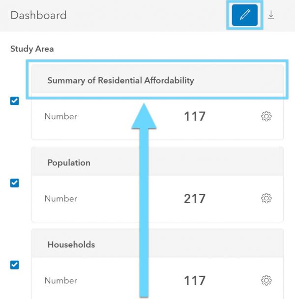 reorder your dashboard