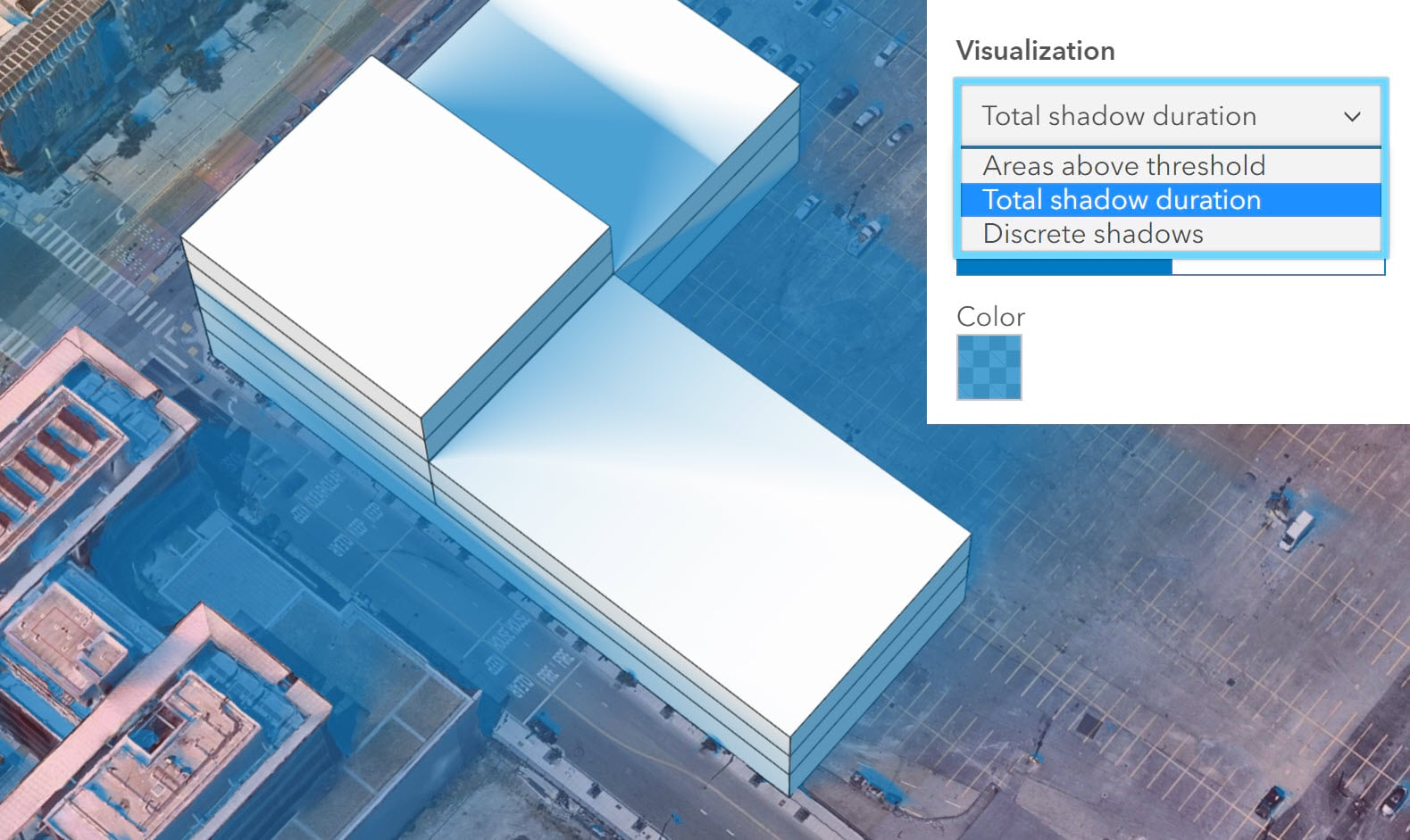 two additional visualization modes