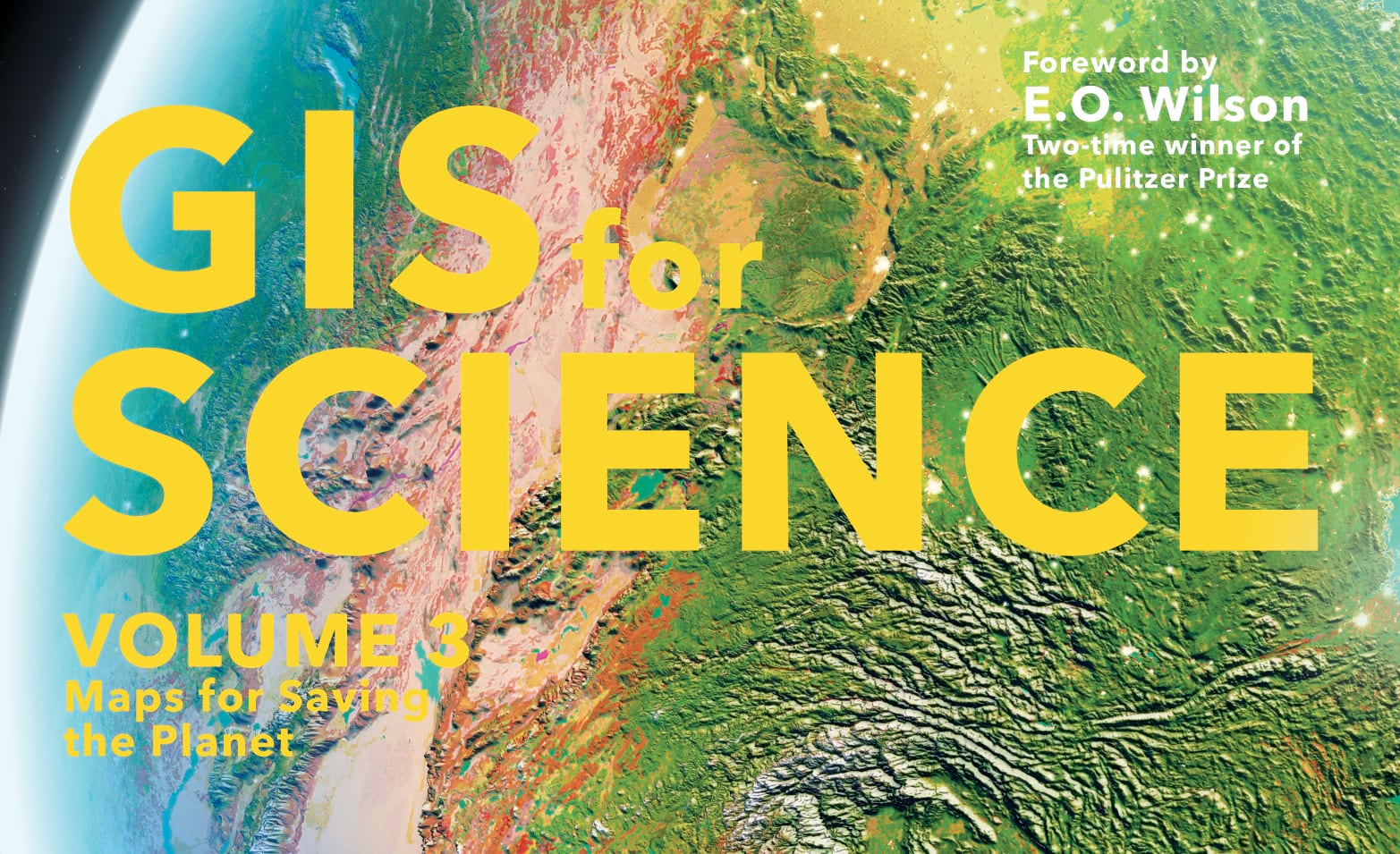 GIS for Science cover art with text.