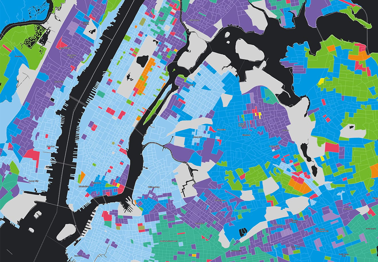 Esri Tapestry Segmentation can show you the different behavioral characteristics of your city