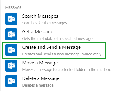 Create and Send a Message