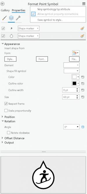 ArcGIS Pro symbology properties