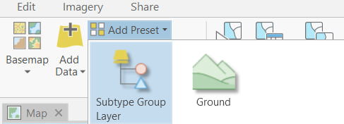 Add Subtype Group Layer