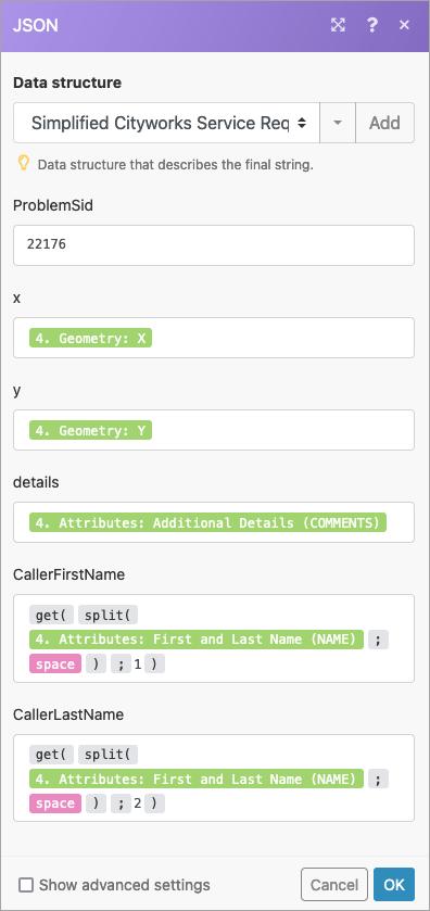 Create service request