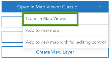 Open in Map Viewer