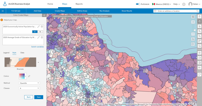 Mexico 2020 Census data