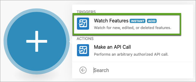 Select Watch Features module