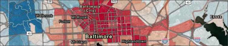 Urban heat island mapping