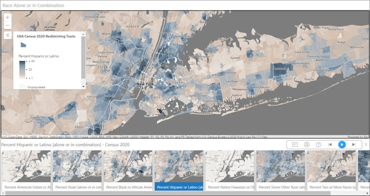 Census 2020 Atlas: Race Alone or in Combination