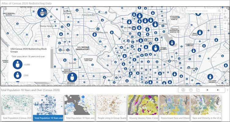 Atlas of Census 2020 Redistricting Data