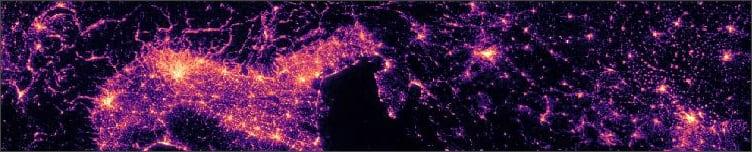 VIIRS earth at night