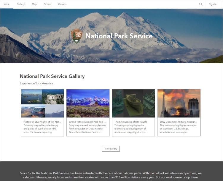 NPS organization home