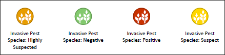 Invasive Pest Species Symbols