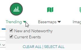 Living Atlas Trending