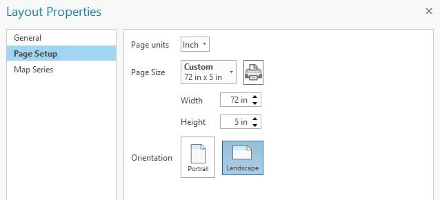 Set a custom page size