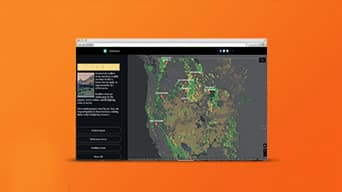 Transform your digital storytelling with ArcGIS StoryMaps.
