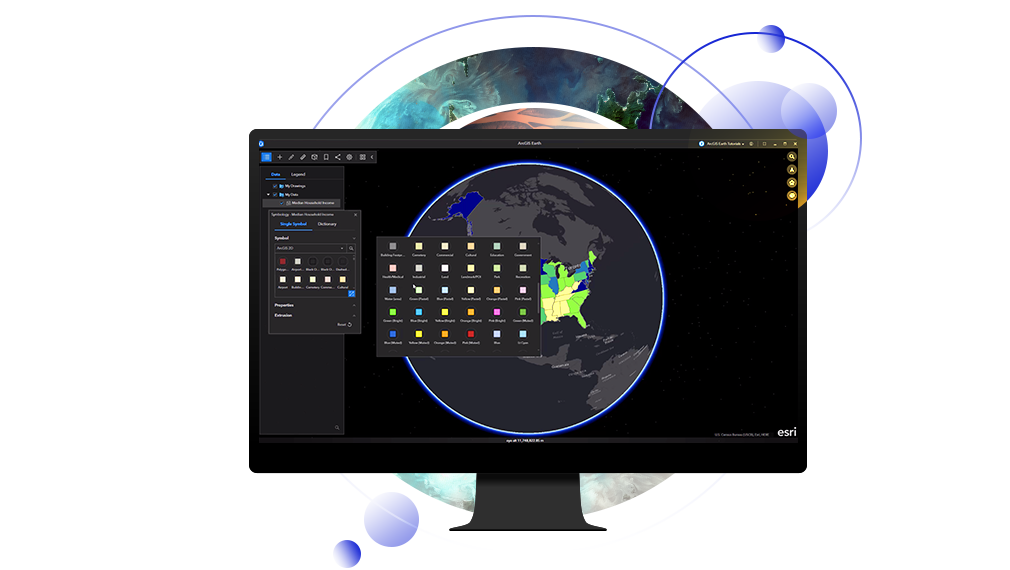 3D Earth Map | Earth App for Desktop & Mobile | ArcGIS Earth