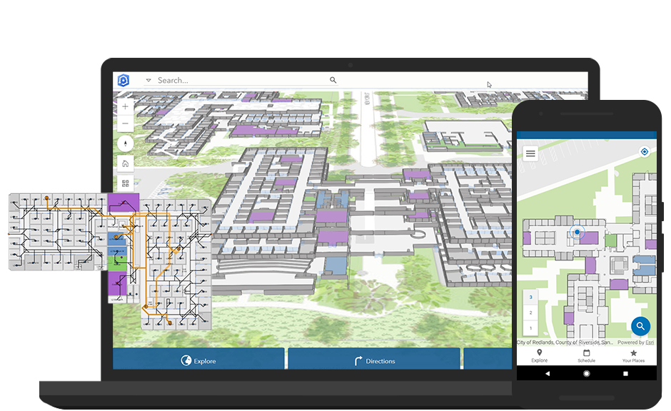 Indoor Mapping, Location Tracking & Wayfinding | ArcGIS Indoors