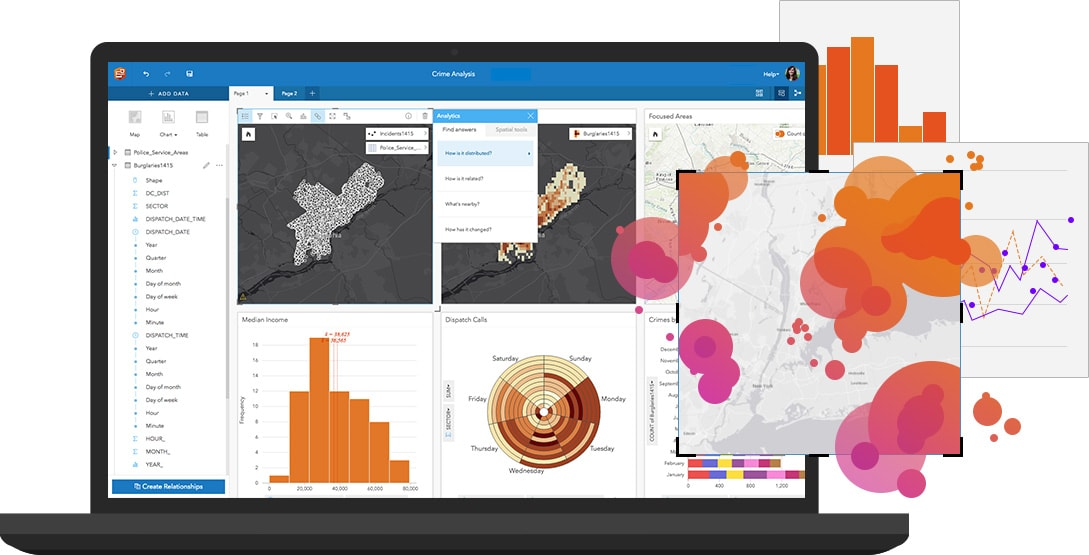 Location Analytics Software   Insights for ArcGIS - Start