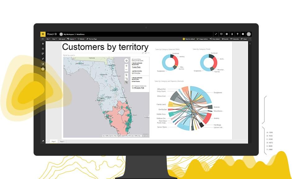 arcgis maps for microsoft power bi next level map visualizations