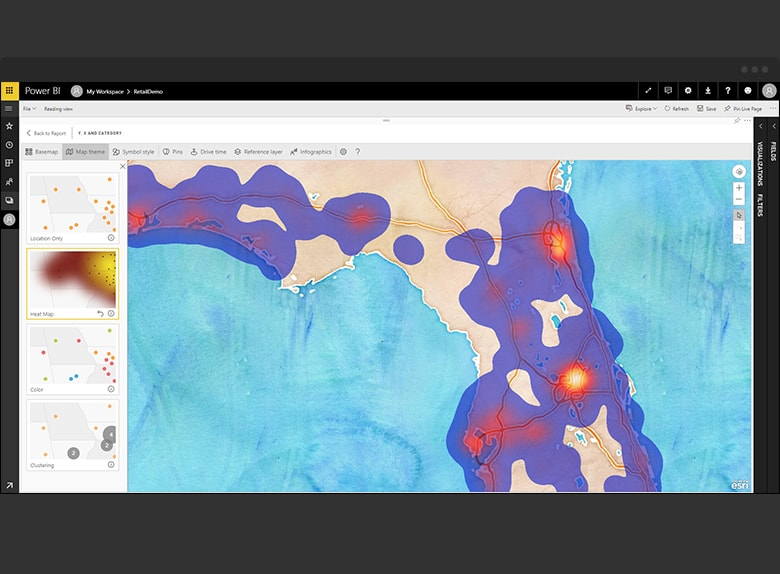 Arcgis Maps For Microsoft Power Bi Boost Your Map Visualizations