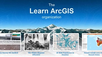 The Learn ArcGIS organization