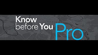 Text: Know before you Pro